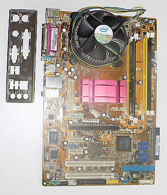 Asus Mainboard P5ND2 SE Intel CPU 2,5 GHZ 1 GB Ram Motherboard  Computer PC
