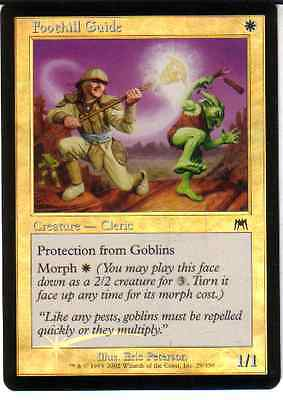 Magic Mtg -  Foothill Guide  - Foil - In Inglese