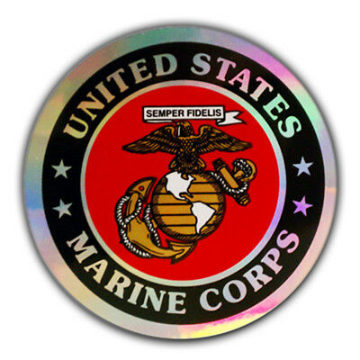 5 Pack- PinMart's U.S. Marine Corps Military Decal Sticker