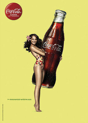 Home Wall Art Print - Vintage Advertising Poster - COCA - COLA 30 - A4,A3,A2,A1