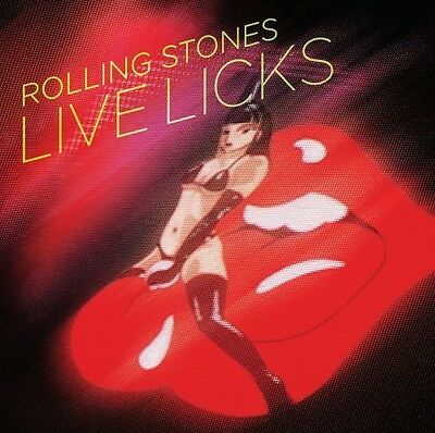 The Rolling Stones - Live Licks [New CD] Rmst, Reissue