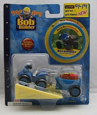 Bob The Builder Take Along Die-Cast 'Scrambler' with Building Dough + Ramp