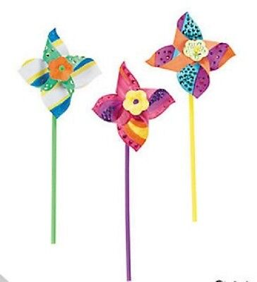 Colour your own windmill - kids craft kit - Aussie Seller