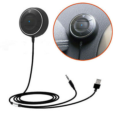 NFC CarKit Bluetooth 4.0 Audio Receiver Hands-free Stereo Music Aux Speakerphone