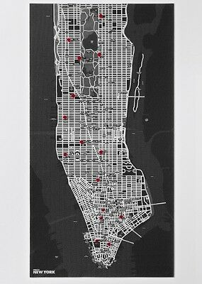 Pin City - New York - Light Blue ~ Emanuele Pizolorusso ~  8033020510770