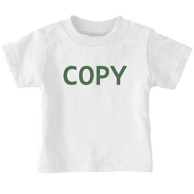 Copy Twins Cotton Toddler Baby Kid T-shirt Tee 6mo Thru 7t