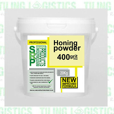 PSRP Hone 400Grit 20KG Honing, Cleaning Powder for Marble, Travertine, Limestone