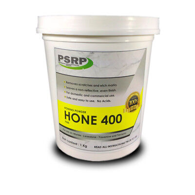 PSRP HONE 400GRIT 20KG Honing, Cleaning Powder for Marble