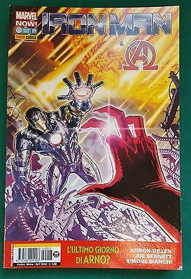 Iron Man n.17 Ed. Panini Comics