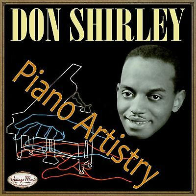 DON SHIRLEY CD Vintage Jazz Swing Dance / Piano Artistry , Music For Dinner
