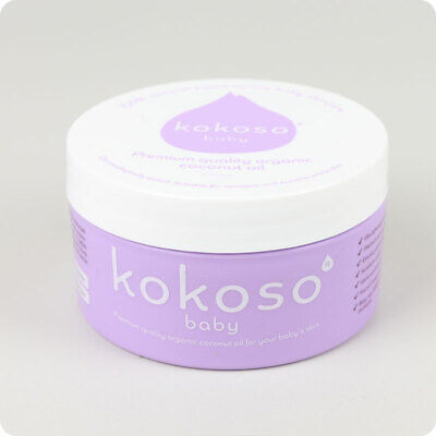 Kokoso Baby Coconut Oil- Raw, Organic Coconut Oil | Organic Baby Product | UK