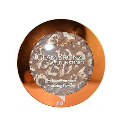 L'Oreal Glam Bronze Wild Instinct Bronzing Powder 303 Born to be Wild