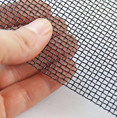 VARROA Beekeeping Mesh #8 x 0.7mm - Black Epoxy Steel Mesh - Medium Heavy Mesh