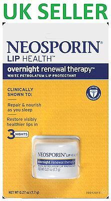 Neosporin Lip Health Overnight Renewal Treatment Protectant Repair Therapy Balm