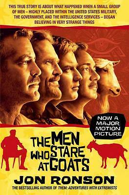 The Men Who Stare at Goats film tie-in, Jon Ronson, New