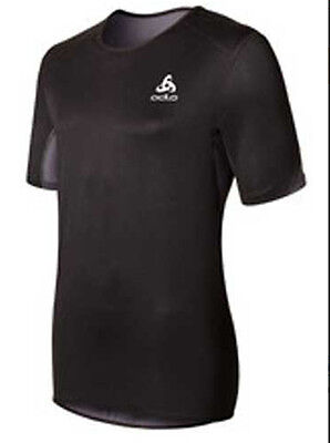 Odlo Short Sleeve Windstopper Logic Windproof Climate Comfort Womens Tee RRP £40