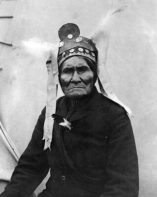 New 11x14 Native American Photo: Geronimo, Chief of the Bedonkohe Apache Indians