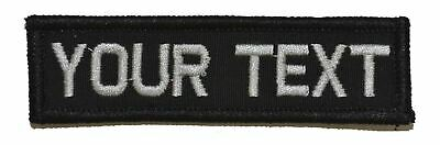 Custom Made 1x3 Military/Morale Funny Patch with Hook and Fastener