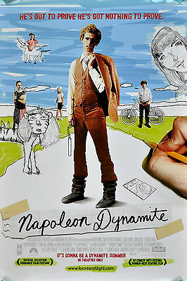 Home Wall Art Print - Vintage Movie Film Poster - NAPOLEON DYNAMITE -A4,A3,A2,A1