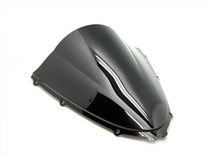 Smoke Black Double Bubble Windscreen Windshield For 2006-2014 Kawasaki Zx 14 14R