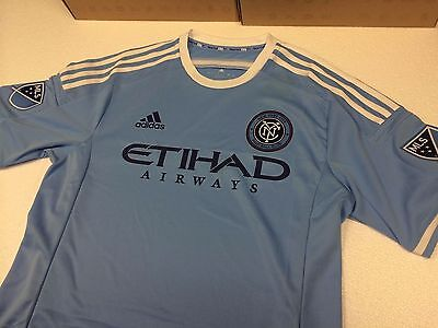 New Mens Authentic Adidas New York City Football Club Soccer Jersey-Sizes
