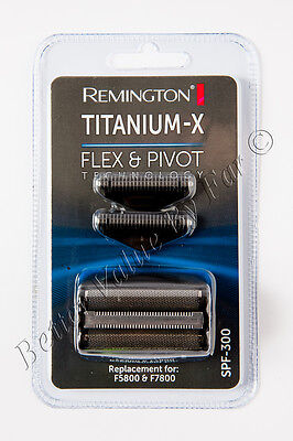 Remington SPF300 Replacement Foil and Cutter Set for F4900, F5800, F7800 (A81)