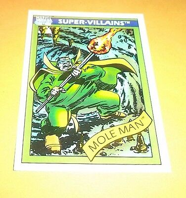 Mole Man # 68 - 1990 Marvel Universe Series 1 Base Impel Trading Card