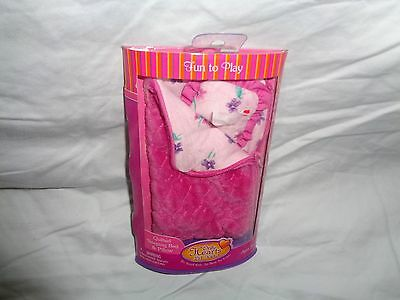 Only Hearts Club  Lil Kids Quilted Sleeping Bag And Pillow Pink 2 2008 New