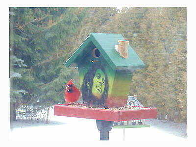 Bob Marley Bird Feeder