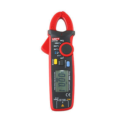 Mini True RMS AC/DC/V UNI-T UT210E Clamp Multimeter Capacitance Tester Meters