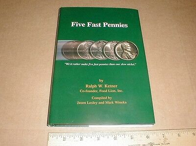 Five Fast Pennies Food Town Lion Grocery Store history Ralph Ketner Salisbury NC