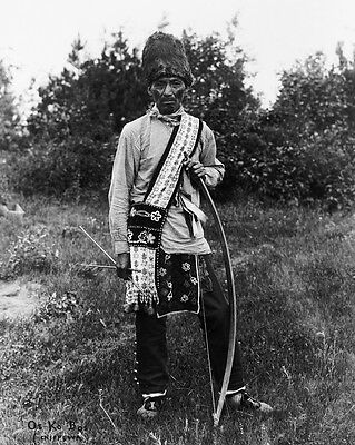 New 8x10 Native American Photo: Os Ko Bos of Osage North American Indian Tribe