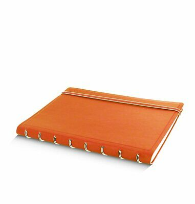 Filofax Notebook A5 Orange 115010 Notizbuch nachfüllbar softes Kunstleder-Cover