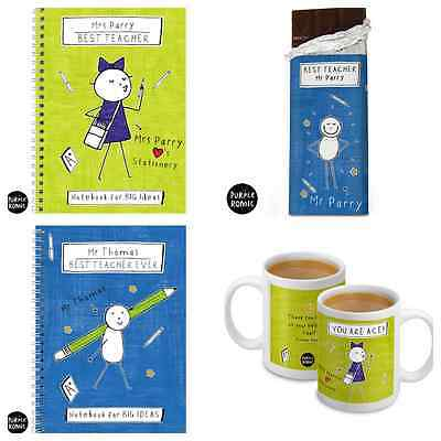 PERSONALISED GIFTS FOR TEACHERS | THANK YOU GIFT IDEA SCHOOL TEACHER PRESENT  b