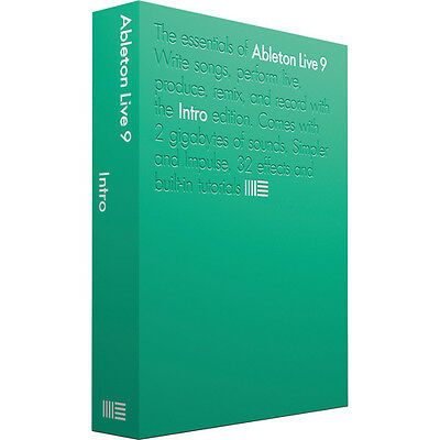 Ableton Live 9 Intro - Music Production DAW Software