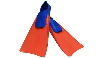 Floating Long Swim Fins/Flippers. Childrens to Adult Sizes