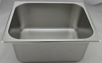 Stainless Steel Bain Marie Trays, 1/2 Size 150mm
