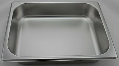 Stainless Steel Bain Marie Trays, 1/2 Size 65mm