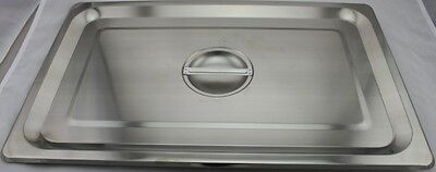 Stainless Steel Bain Marie Lid, 1/1
