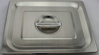 Stainless Steel Bain Marie Lid, 1/2