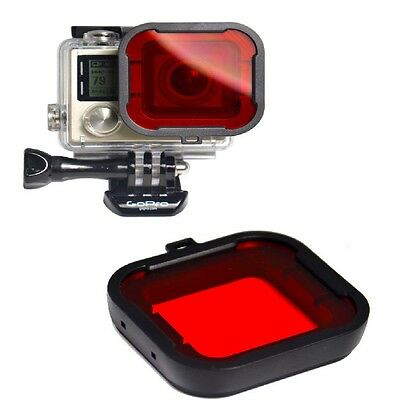hot !! Lens Filter Dive Filters For Gopro Hero4/Hero3+ Action Camera Accessories