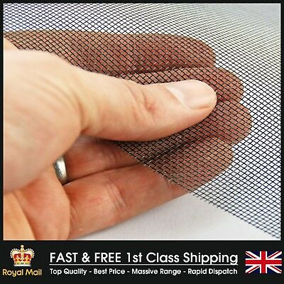 INSECT MESH BUG WINDOWS DOORS FILTERS REPTILES 1.2m2 – BARGAIN PRICE