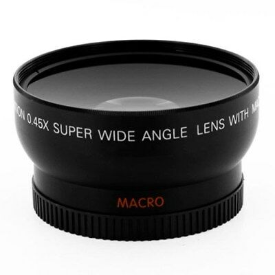0.45x .45x 58mm Wide Angle Lens with Macro 58mm