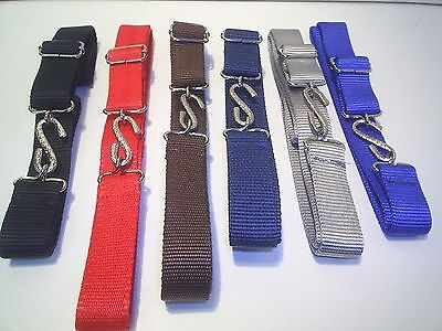 Super Strong 1 Inch Wide Ladies Web Snake Belts  24 To 34 Waist £2.99 Each