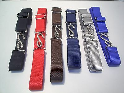 Mens Ladies  Super Strong Web  Snake Belts  £2.99 Each Fits 32 To 44 Inch Waist