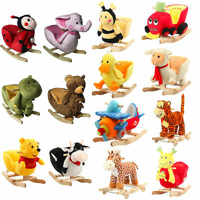 FoxHunter New Animal Rocker Baby Kids Rocking Toddler Infant Children Toy Gift