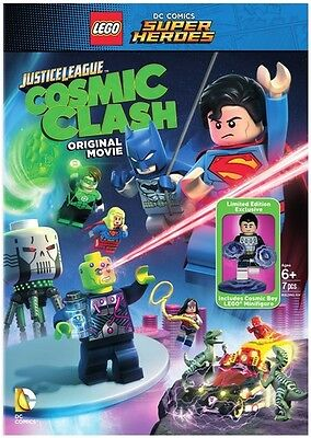 Lego Dc Comics Super Heroes: Justice (W/Figurine) (2016, REGION 1 DVD New)