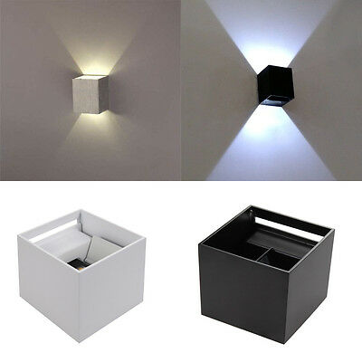 Modern 7W Wall Light Up Down LED Sconce Lighting Fixtures Lamp Indoor Outdoor