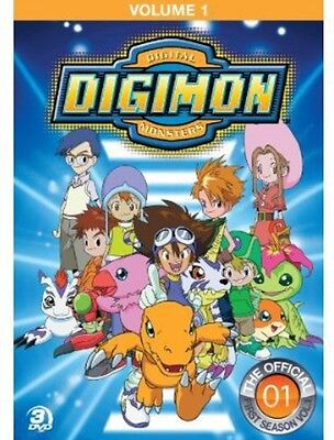 Digimon: Digital Monsters - The Offical First Season, Vol. 1 [3  (2012, DVD NEW)