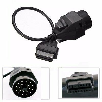20 PIN To 16 PIN OBD2 OBDII Cable Adapter Car Diagnostic Connector For BMW UK